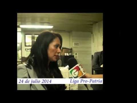 "Video. ""Entrega de papelería antejuicio contra el Secretario General MP"" (24 jul 2014)"