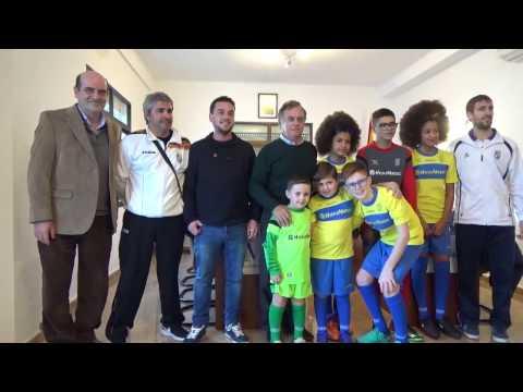 Presentación equipaciones escuela municipal de fútbol 7
