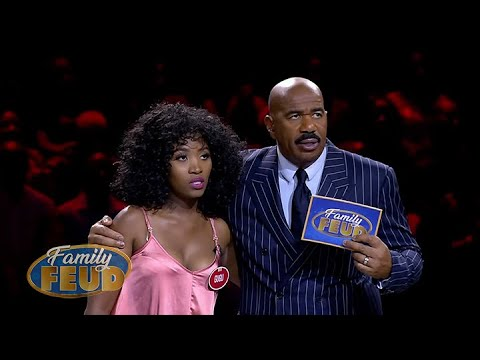 If they get more than 200 points they get to take home R75 000 in FAST MONEY! | Family Feud Africa