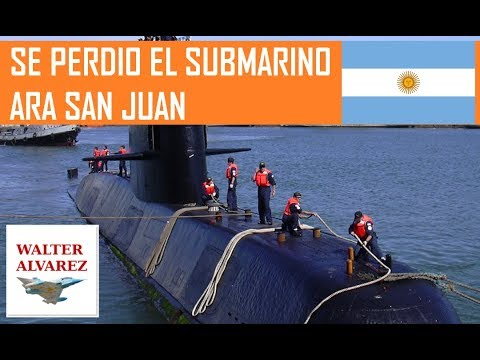 Se perdio el submarino Argentino ARA SAN JUAN
