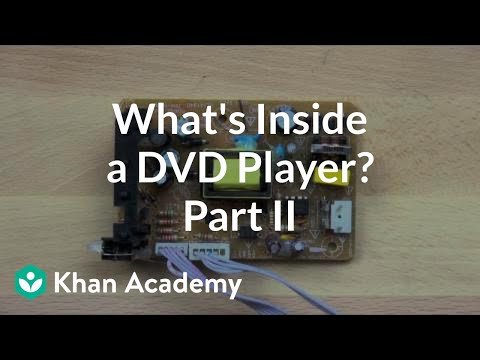 what is inside a dvd player 2 of 5 video khan academy. Black Bedroom Furniture Sets. Home Design Ideas
