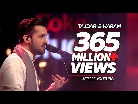 Download Atif Aslam, Tajdar-e-Haram, Coke Studio Season 8, Episode 1. HD Mp4 3GP Video and MP3