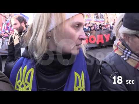 Марш памяти Немцова за 60 секунд