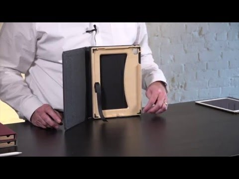 Contega Linen iPad Pro 9.7 Case Video