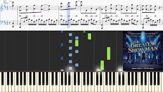 Video This Is Me (from The Greatest Showman Soundtrack) (Synthesia Piano Tutorial w/Lyrics) MP3, 3GP, MP4, WEBM, AVI, FLV Januari 2018