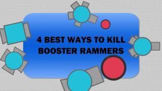 4 Methods to kill Boosters (rammers)  Diep.io / Diepio
