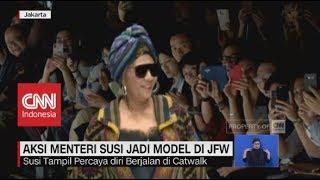Video Lenggak-Lenggok Aksi Menteri Susi Jadi Model di JFW MP3, 3GP, MP4, WEBM, AVI, FLV November 2018