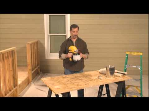 paint sprayer how to - Wagner airless paint sprayer http://bit.ly/QjV06X Wagner airless paint sprayer with easy tilt technology are unlike any other sprayers. Now you can spray at ...