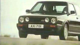Vw Golf II GTI publicité culte - Rebelcar.fr