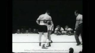 Rocky Marciano -vs- Harry Mathews 1952