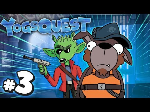 YogsQuest 6 - A Star Wars Story #3 | The Chase Is On! (видео)