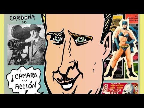 rene cardona sr cineasta soto caricatura homenaje y video carton