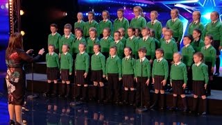Video St. Patrick's Junior Choir Shows off Their Voices and Touch Everyone | Week 3 | Britain's Got Talent MP3, 3GP, MP4, WEBM, AVI, FLV Oktober 2018
