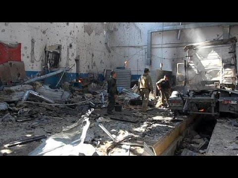 Aνατολική Ουκρανία: Ειρηνευτικές συνομιλίες εν μέσω σφοδρών συγκρούσεων