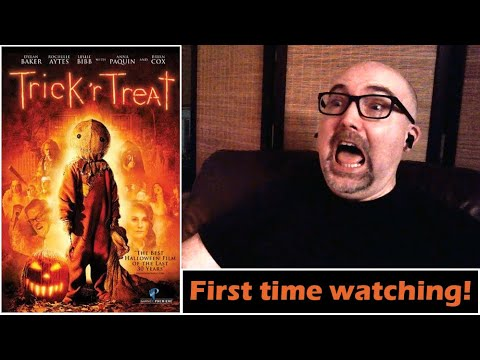 FIRST TIME WATCHING Trick 'R Treat! (Reaction video)