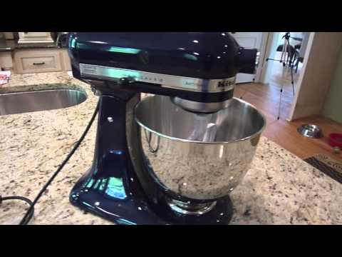 Kitchen Aid Artisan Stand Mixer Unboxing & Review