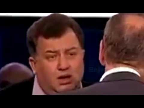 Драка в программе Право голоса на ТВЦ (видео)