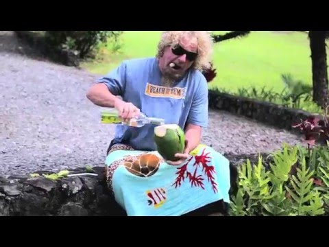 Sammy Hagar loves his tequila, his rum, and his wine!