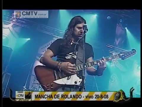 Mancha de Rolando video Arde la ciudad - CM Vivo 20-08-2009