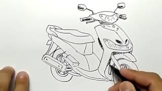 Nonton cara menggambar motor mio dengan mudah dan cepat Film Subtitle Indonesia Streaming Movie Download