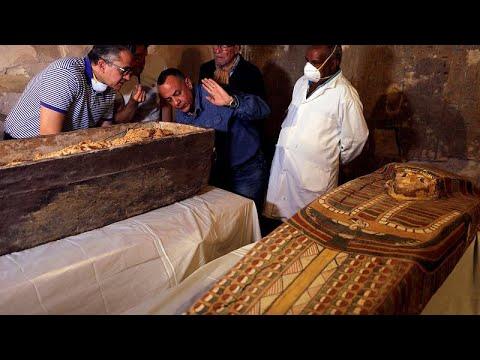 Αίγυπτος: Στο φως άθικτη σαρκοφάγος γυναίκας ηλικίας 3.000 ετών…