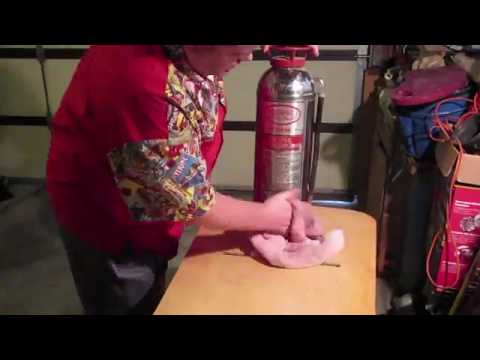 Make a Lamp from a Vintage Fire Extinguisher (Part 1 of 3)