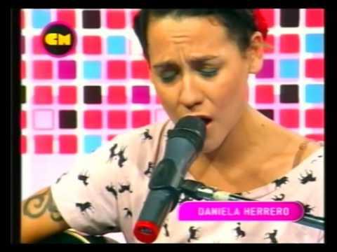 Daniela Herrero video Las horas - Estudio CM 2012