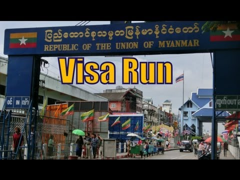 Thai Border Crossing Visa Run