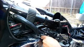 8. Honda Shadow 1100 carburetor removal