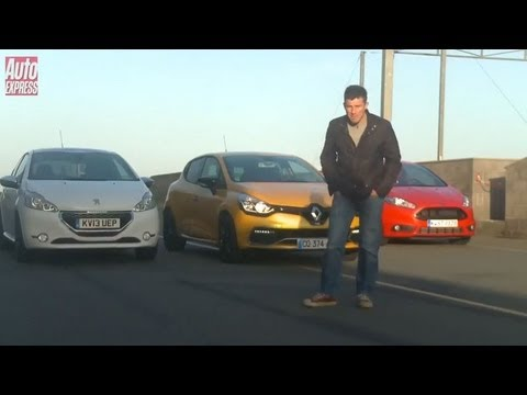 Ford Fiesta ST vs Renault Clio RS vs Peugeot 208 GTi