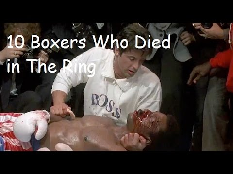 10 BOXERS WHO DIED IN THE RING