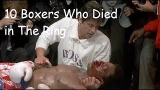 Nonton 10 Boxers Who Died In The Ring Film Subtitle Indonesia Streaming Movie Download