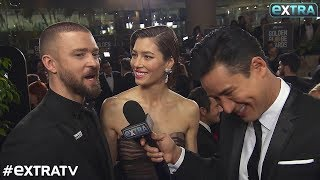 Video Jessica Biel & Justin Timberlake's Date Night at Golden Globes 2018 download in MP3, 3GP, MP4, WEBM, AVI, FLV January 2017