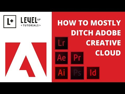 How To Mostly Ditch Adobe Creative Cloud