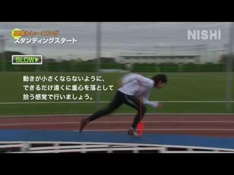 【重心移動を身に着けよう②】下り坂でのスタート練習4つの方法