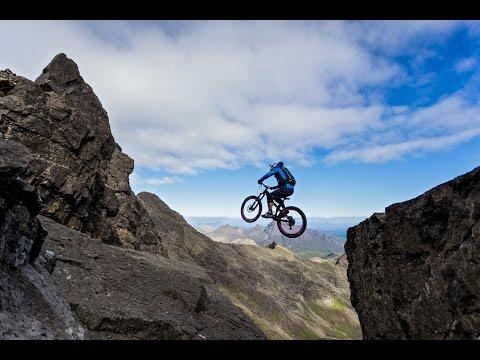 "amazing danny macaskill making ""the ridge"" hd"