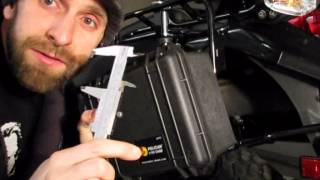 8. Kawasaki KLR650 - Tool Box Installation and Luggage Rack System Review