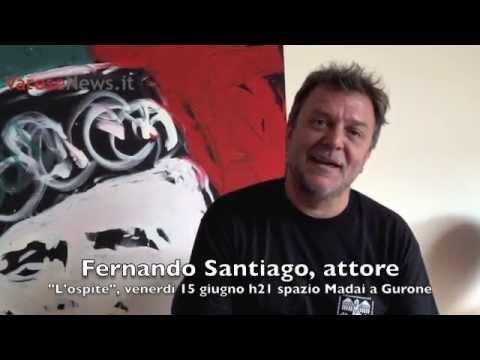 "Fernando Santiago presenta ""L'ospite"""