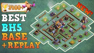 Clash of Clans Best Builder Hall 5 Base (BH5 Base) Anti 3 Star / Anti 2 Star Base [Town Hall 5 (TH5) ] / TOP BH5 Bases / Trophy Push Base / Trool Bases / Max Base / New Update 2017 Clash of Clans Builder Base Layout / Push to 3000+ Trophy / After Update of Roaster and Witch and Battle Machine ( New Hero) / Night Village. Bases done after CoC Versus Battle Update with New Troops and Buildings like Crusher, Multi Mortar, Push Trap, Cannon Cart, Bomber, Battle Machine aka New Hero, Gem Mine, Clock Tower, NEW ROASTER etc.This is the Best BH5 Builder Base 5 2017, Using this base design your base will never get 3 star this is also an Trophy Push Base for Builder Base 5. Trophy over 3000+.Replay shown in video is Battle with all troops, including Raged Barbarian, Sneaky Archer, Boxer Giant, Bomber, Dragon, NIGHT WITCH UPDATE------------------- Thank You for Watching! ------------------➜ FASTEST WAY TO EARN FREE GEMS: http://cashforap.ps/finite➜ Please Like ,Share And Subscribe!!➜ Share: https://youtu.be/a1euPaAZ3k4 ➜ Subscribe: https://goo.gl/AWuJLF ------------------------------------------------------➜ Bringing to you: Clash of Clans [CoC]  Attack Strategies and Raids  War Base layout  Farm Base layout  For Town Hall - TH7 TH8 TH9TH10 AND TH11  For Builder Hall –  BH3 BH4 BH5 BH6 BH7----------------------------------------­­­---------------------------------➜ Best Builder Hall 6 Attack Strategy! BHH6 Base!https://youtu.be/3sXeOKNtm9M ----------------------------------------­­­---------------------------------➜ Builder Hall 6 Base [BH6 Builder Base] Clash of Clanshttps://goo.gl/F5avxW ----------------------------------------­­­---------------------------------➜ How to 3 Star Popular Builder Base 5 [BH5]https://youtu.be/X1P3NHJu_u0----------------------------------------­­­---------------------------------➜ How to 3 Star Popular Builder Base 4 [BH4]https://youtu.be/o-e-yIPfG1U----------------------------------------­­­---------------------------------➜ Builder Hall 5 Base [BH5 Builder Base] Clash of Clanshttps://goo.gl/ZyQgy6 ----------------------------------------­­­---------------------------------➜ Builder Hall 4 Base [BH4 Builder Base] Clash of Clans https://goo.gl/kTviSh ----------------------------------------­­­---------------------------------➜Clash of ClansClash of Clans is an online multiplayer game in which players build a community, train troops, and attack other players to earn gold and elixir, and Dark Elixir, which can be used to build defenses that protect the player from other players' attacks, and to train and upgrade troops. The game also features a pseudo-single player campaign in which the player must attack a series of fortified goblin villagesNew Features:● Journey to the Builder Base and discover new buildings and characters in a new mysterious world.● Battle with all new troops, including Raged Barbarian, Sneaky Archer, Boxer Giant, Bomber, Cannon Cart, and the new Hero Battle Machine.● Go head to head with other players in the new Versus battle mode.Category: GameInitial release date: August 2, 2012Mode: Massively multiplayer online gameGenre: Strategy Video Game.Platforms: Android, iOS.Publisher: SupercellDeveloper: Supercell----------------------------------------­­­---------------------------------➜Music:- NoCopyrightSoundFransis Derelle Fly (feat. Parker Pohill) – https://youtu.be/BEvkowdXijA Song: Electro-Light – SymbolismMusic provided by NoCopyrightSounds.Video Link: https://youtu.be/__CRWE-L45k ----------------------------------------­­­---------------------------------Finite Gamer
