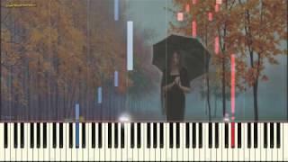 Ненастье (релакс) (Ноты и Видеоурок для фортепиано) (piano cover)