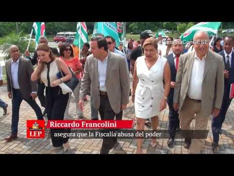 Riccardo Francolini asegura que la Fiscalía abusa del poder