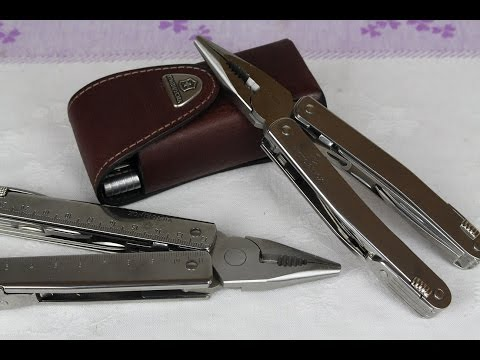 VICTORINOX SwissTool X 'Vs' Spirit XC *COMPARISON VIDEO*