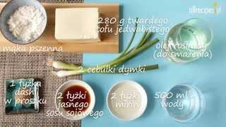 Przepis na agedashi tofu