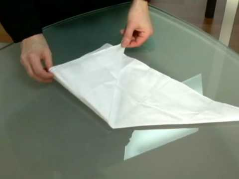 How to fold pocket squares – Point Folds
