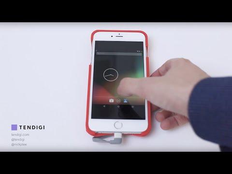 Esta carcasa hace funcionar el iPhone como un teléfono Android