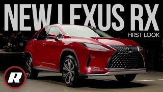 First Look: 2020 Lexus RX ups its tech game for a new decade by Roadshow