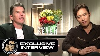 Ethan Hawke & Byung-hun Lee Exclusive THE MAGNIFICENT SEVEN Interview (JoBlo.com) by JoBlo Movie Trailers