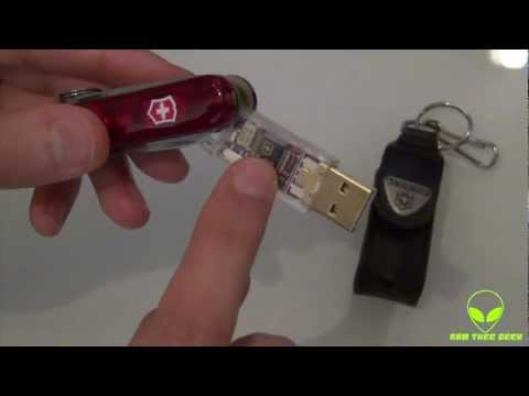 Victorinox Swiss Army 16GB Flash Drive + Knife Review