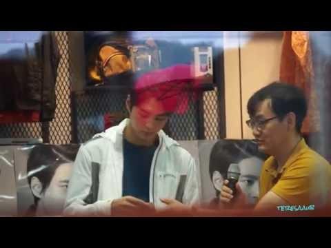 2016-09-02 Joo Won Mountia Fan Sign at GimCheon Moda Outlet (видео)