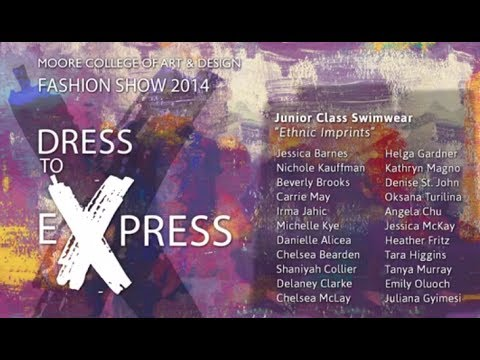 02 Swimwear // 2014 Moore Fashion Show // Dress to Express (видео)